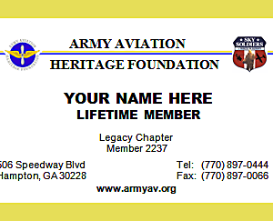 AAHF LIFETIME MEMBERSHIP