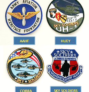 AAHF Patches